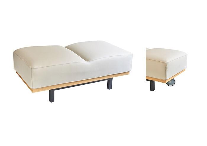 Mioedition- pouf deux places- bench-designer furniture- meuble de créateur